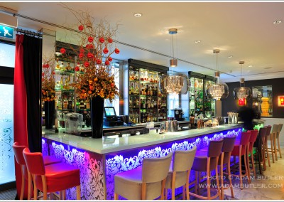 Mandeville Hotel bar, Marylebone, London