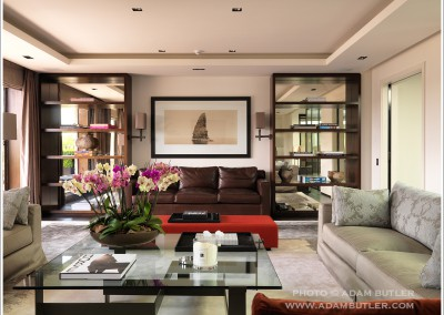 Penthouse apartment in Belgrave Square, Architecture and interior design by Trevor-Lahiff