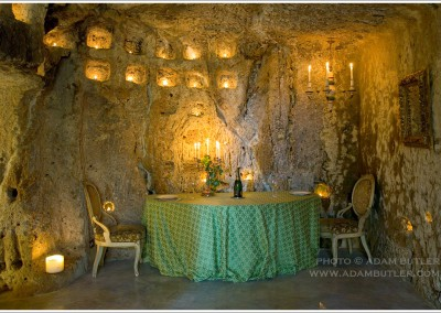 Dwelling in a grotto in Civitella d'Agliano, Lazio, Italy