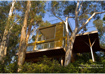 Lomac Treehouse, San Diego, California, architecture Safdie Rabines