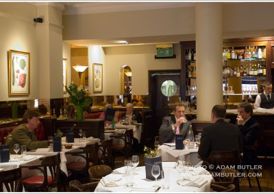 St. Quentin restaurant, Brompton Road, London