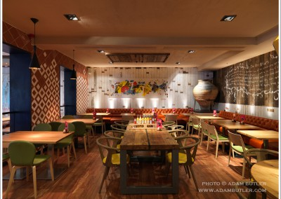 Nando's, Fulham Broadway, London