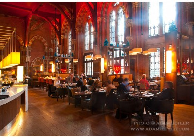 St Pancras Station Restaurant, London