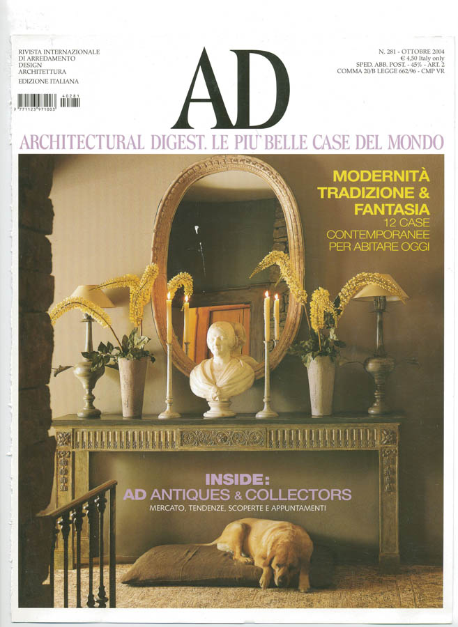 AD Italia - Julie Richard's Loft