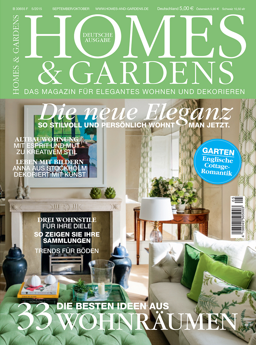 Homes and Gardens May 2015 Mia Karlsson House