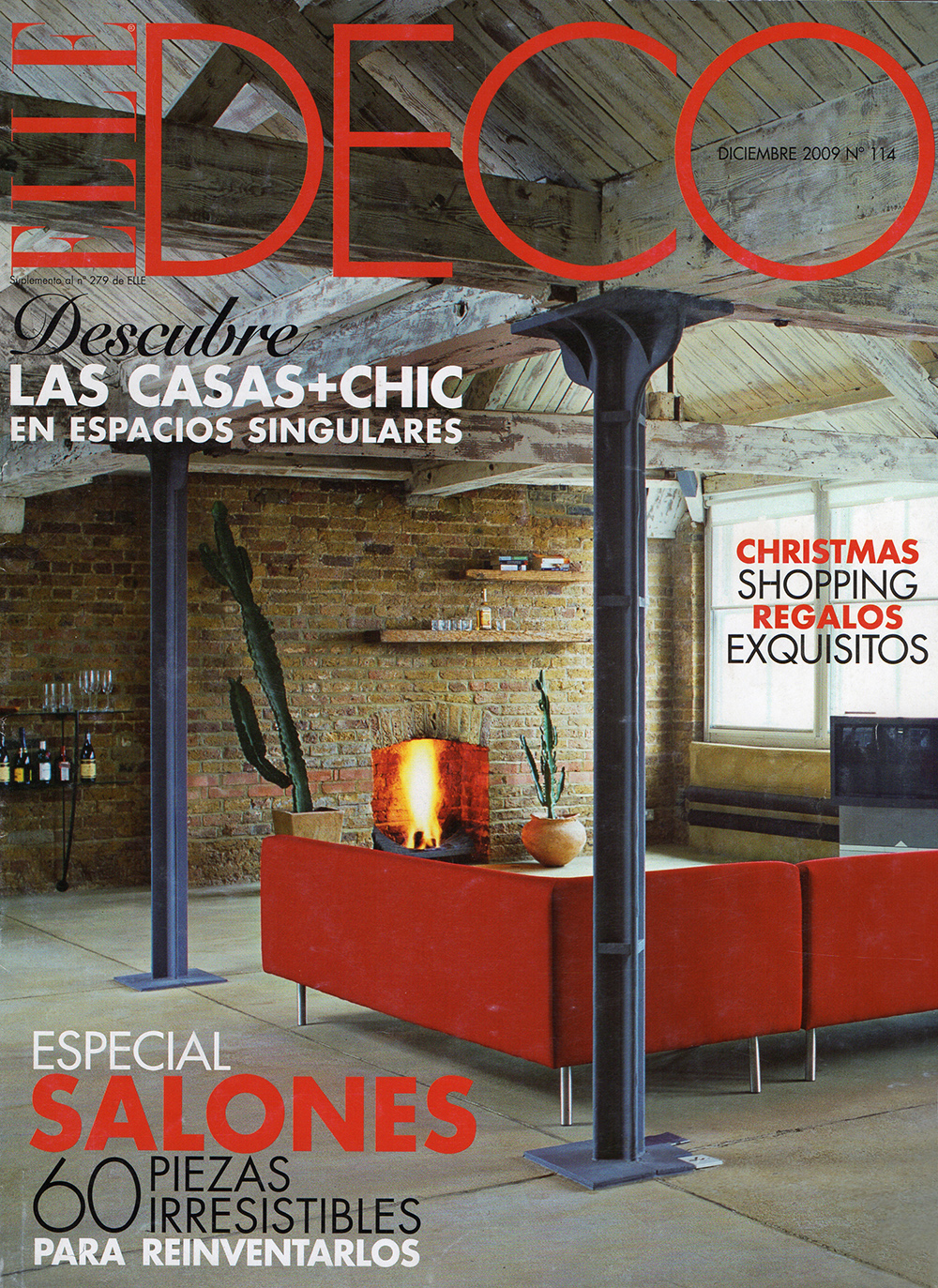 Elle Deco Spain - Loft in Shoreditch, London