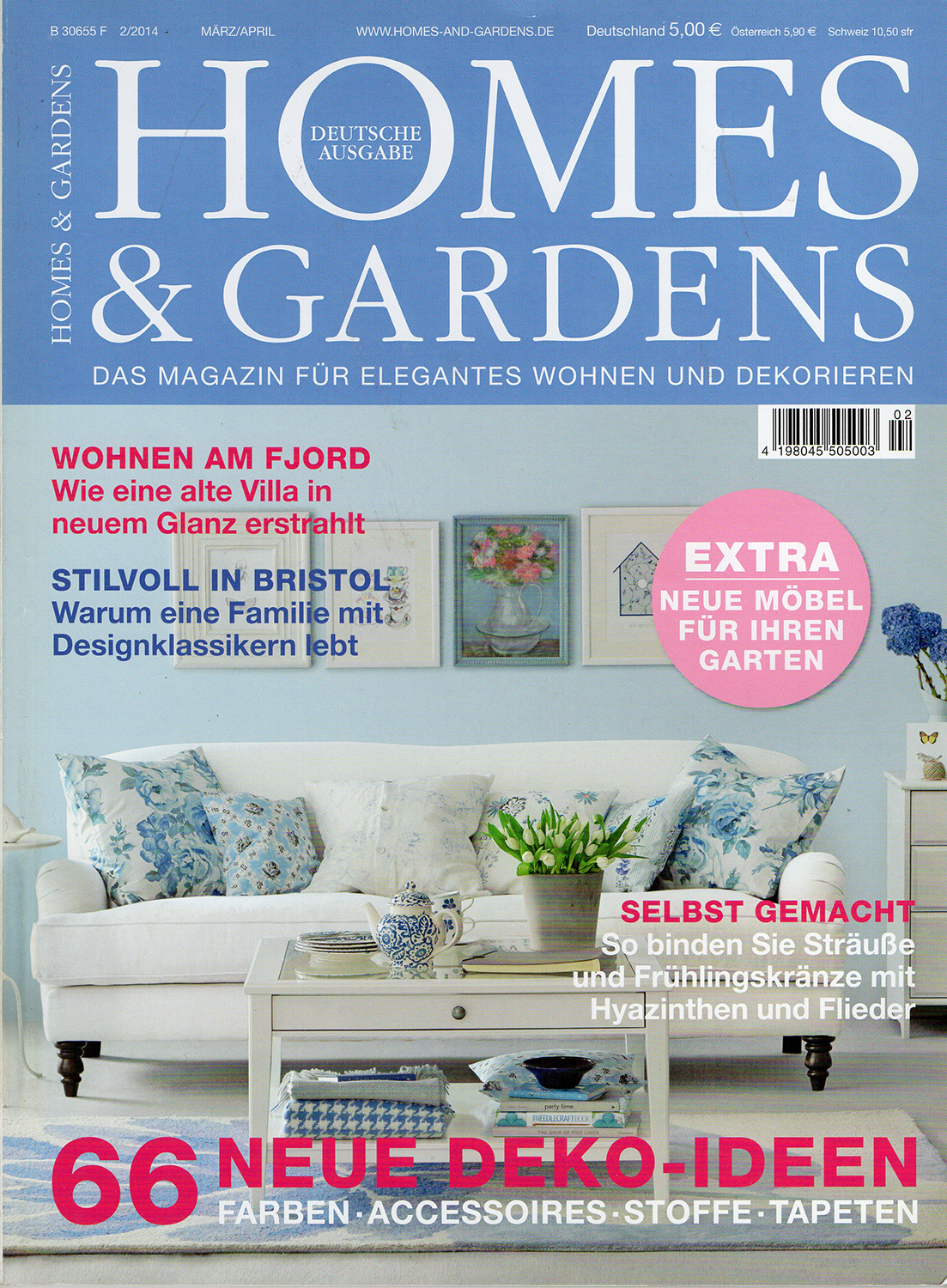 Homes and Gardens Germany - Nilsson Apartment, London